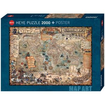 2000  pz   Map  Art  Pirate...