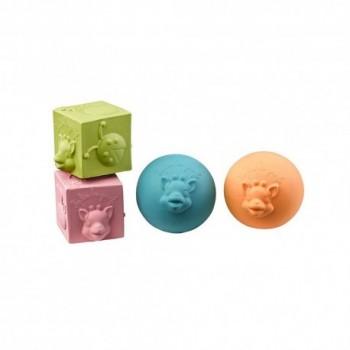 Set 2 Cubi e 2 Palline...