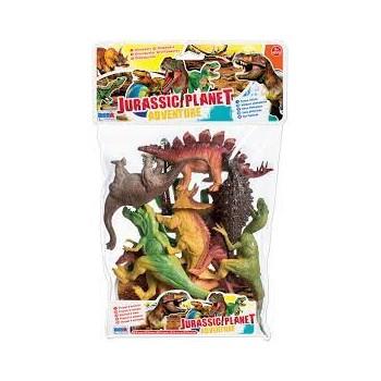 Busta  Dinosauri  8  pz   -...