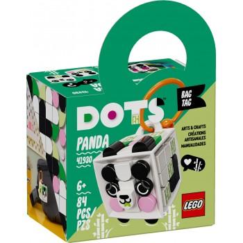 41930  Panda  Bag  Tag Dots...