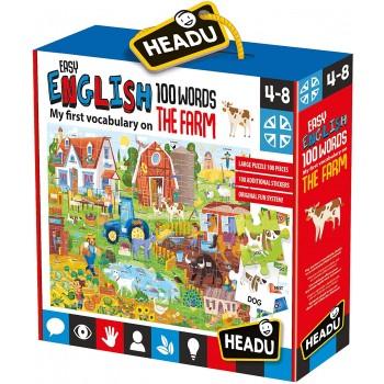 Easy English 100 Words Farm...