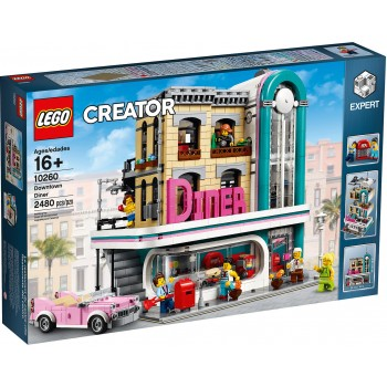 10260 Downtown Diner - Lego