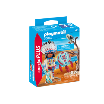 70062 Capo Indiano - Playmobil