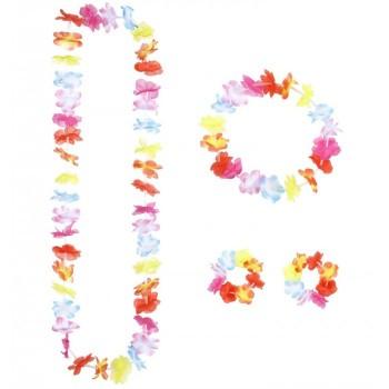 Set Hawaiano Multicolore -...