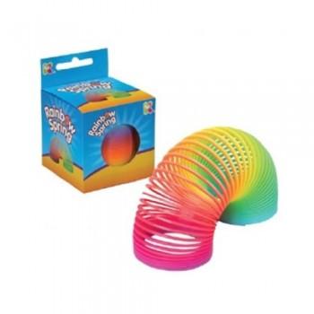 Rainbow Plastic Spring -...