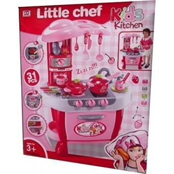 Cucina Rosa con Attività -...