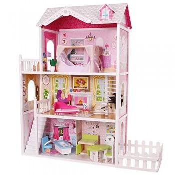 Casa Bambole Legno...