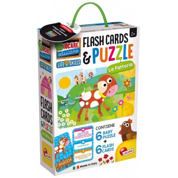 Baby Puzzle Flash Cards La...