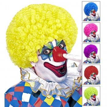 Parrucca Clown Riccia Col....