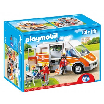 6685 Ambulanza con Luci e...