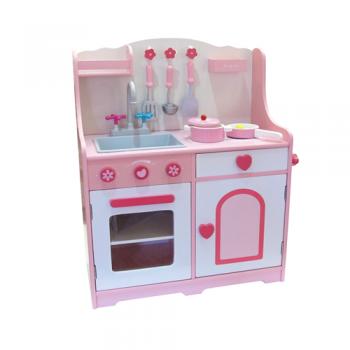 Cucina Legno Rosa  - Toyland