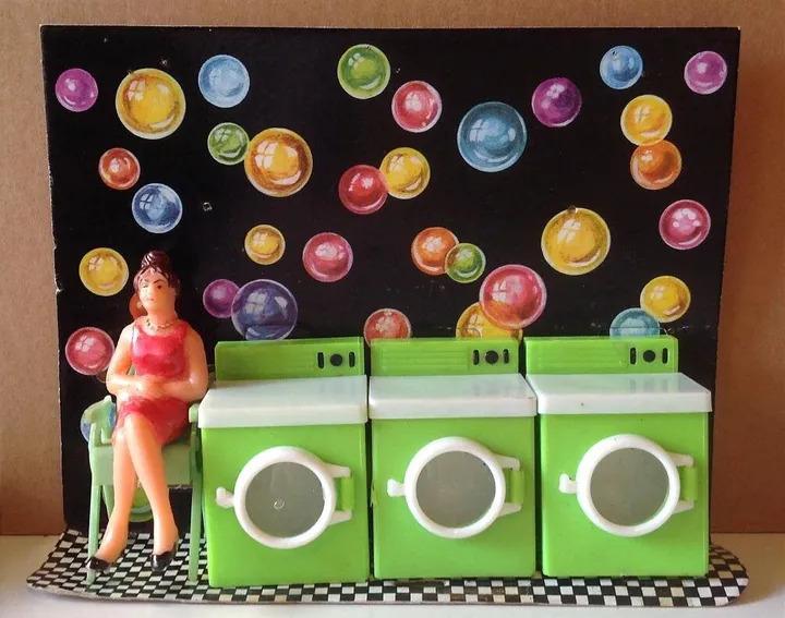 """""""Chiara"""", la mamma che aspetta che finisca la lavatrice"""