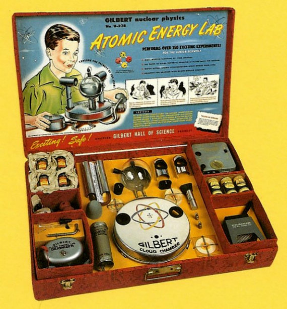 il Gilbert U-238 Atomic Energy Lab venduto negli anni '50
